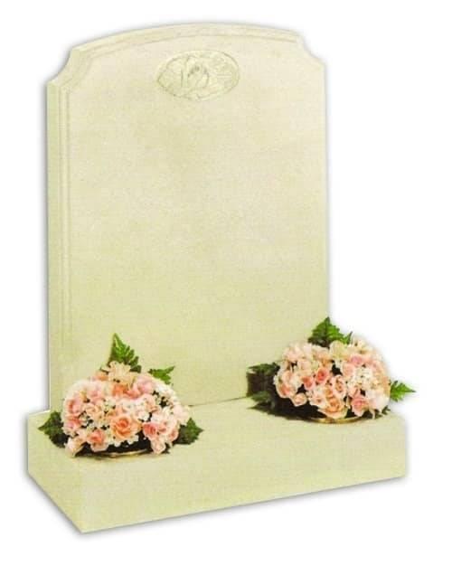 stone headstone