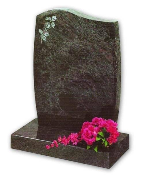 paradiso granite headstone