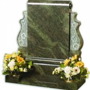 beautiful marble headstone