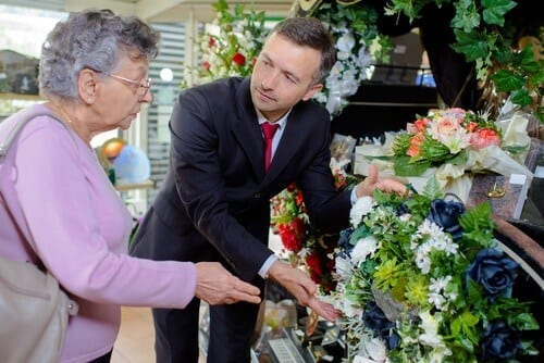 Choosing a floral tribute