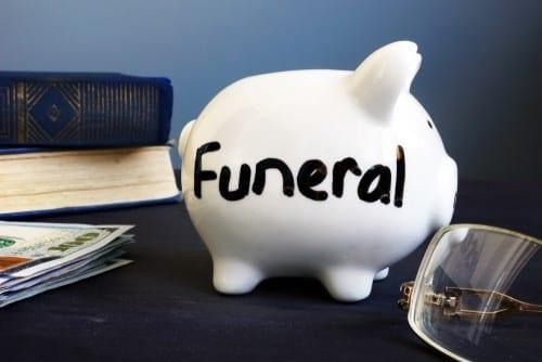 Funeral savings pot